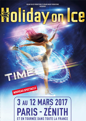 kekelmb_Holiday_On_Ice_Time_Zénith_Paris_2017_affiche
