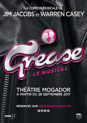 kekeLMB_Grease_Theatre_Mogador_Paris_2017_affiche