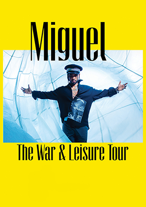 kekeLMB_Miguel_War_Leisure_Tour_Terminal_5_New_York_2018_Affiche