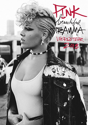 kekeLMB_Pink_Beautiful_Trauma_World_Tour_Madison_Square_Garden_New_York_2018_Affiche