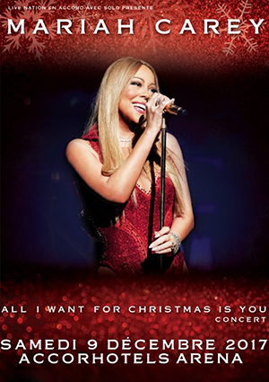 kekeLMB_Mariah_Carey_All_I_Want_For_Christmas_Tour_AccorHotels_Arena_Paris_2017_affiche