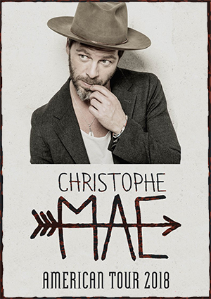 kekeLMB_Christophe_Maé_American_Tour_2018_Gramercy_Theater_New_York_2018_Affiche