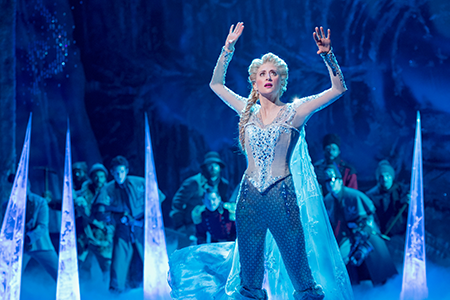 Frozen (La Reine des Neiges) – St. James Theatre, New York (2018)