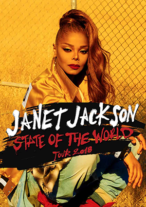 Janet Jackson : State Of The World Tour 2018 - Panorama NYC