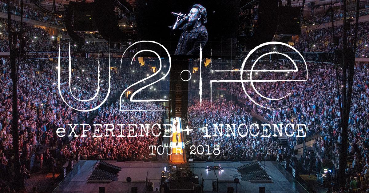 U2 : eXPERIENCE + iNNOCENCE Tour 2018 – Madison Square Garden, New York (2018)