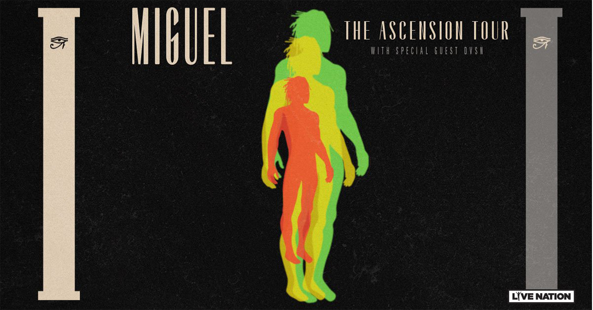 Miguel : The Ascension Tour - Afro Punk Fest, Brooklyn (2018)