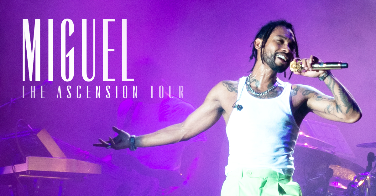 Miguel : The Ascension Tour - Afropunk Fest, Brooklyn (2018)