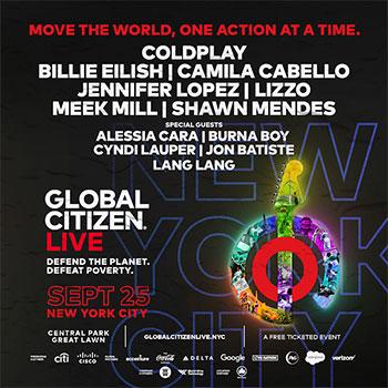 Global Citizen Live 2021 - Central Park, New York (2021)