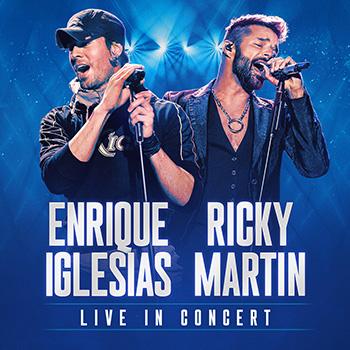 Enrique Iglesias & Ricky Martin - Madison Square Garden, New York (2021)